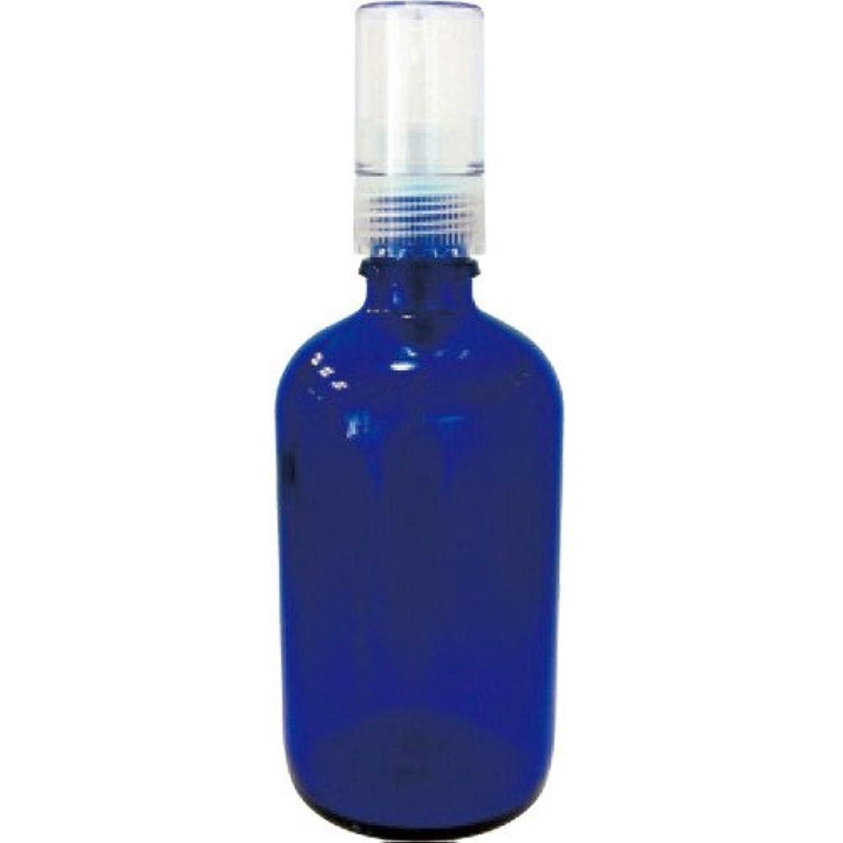 うめき有益容疑者青色ガラススプレー瓶100ml