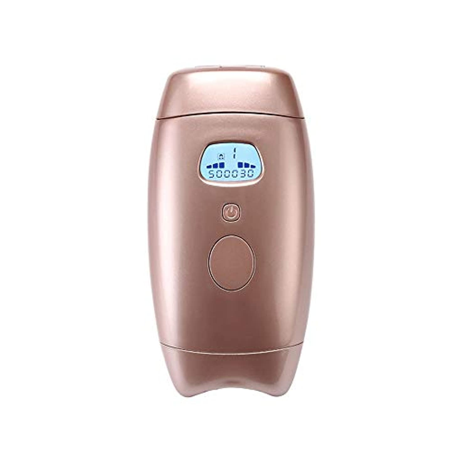 移動する保証金形式Xihouxian 5スピード調整、ゴールドカラー、ホームペインレスパーマネントヘアリムーバー、肌に害がない、クォーツチューブ、サイズ16.2 X 8.1 X 4.5 Cm D40