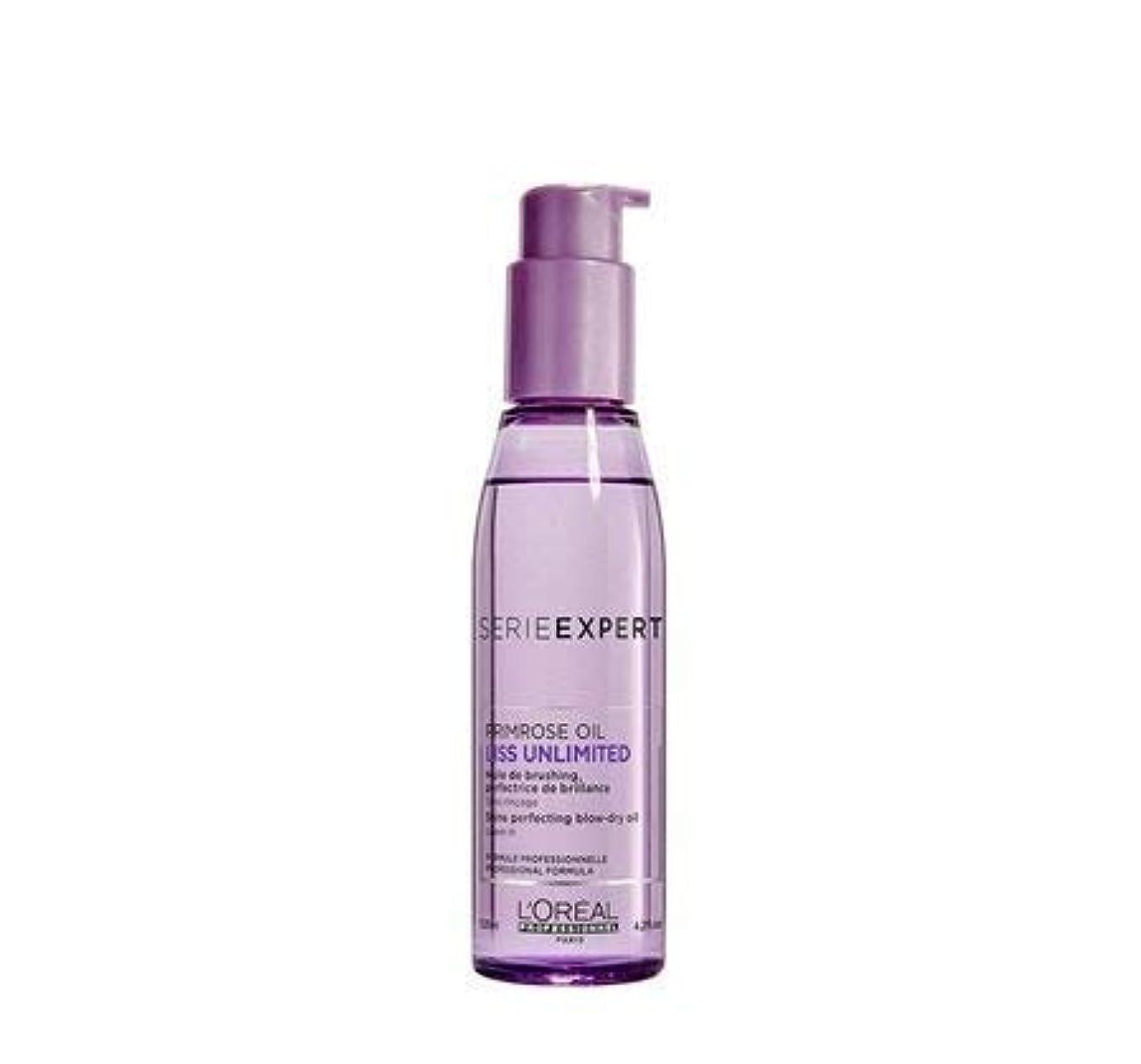 求人腫瘍内側L'Oreal Professionnel Serie Expert Liss Unlimited Evening Primrose Oil - 125 ML X2 (Pack Of 2)