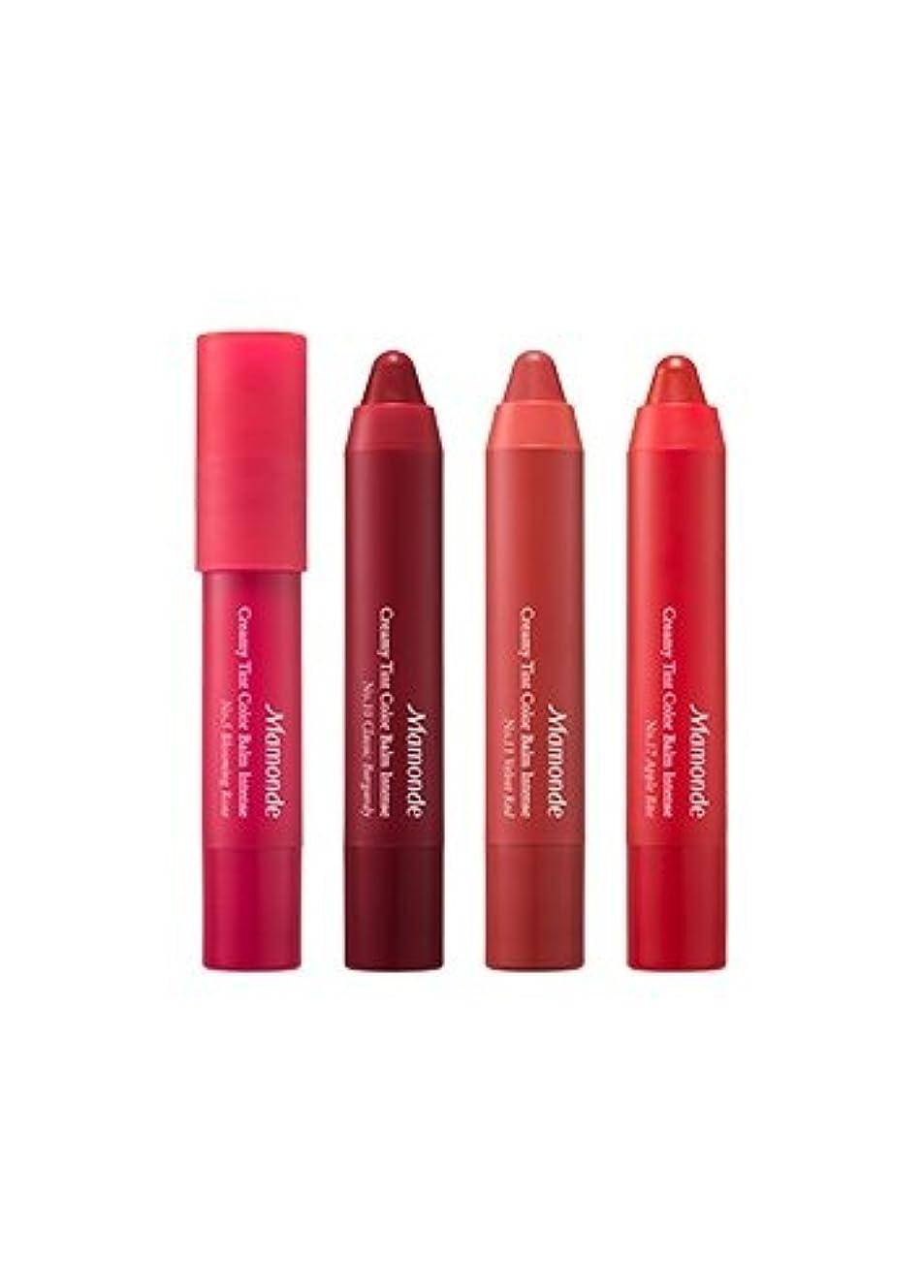 軽量排除するさびた[New] Mamonde Color Balm Intense No.11 Velvet Red マモンド カラーバームインテンス (No.11 Velvet Red) [並行輸入品]