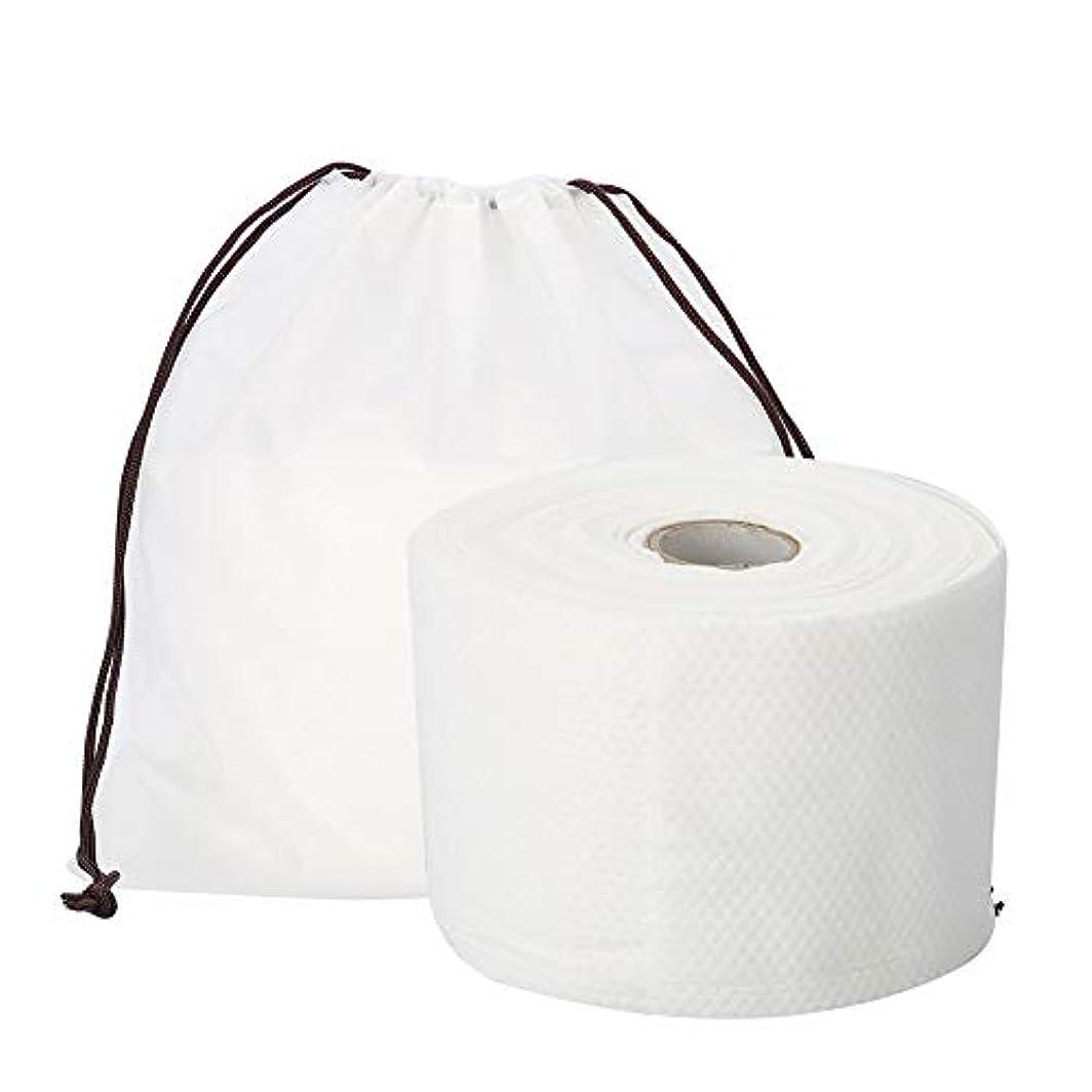 適性限られたストライプSemmeの使い捨て可能なクリーニングのフェイスタオル、毛羽立ちのない綿パッドの構造使い捨て可能なフェイスタオルの柔らかいNonwovenのクリーニングの化粧品の綿パッド25m