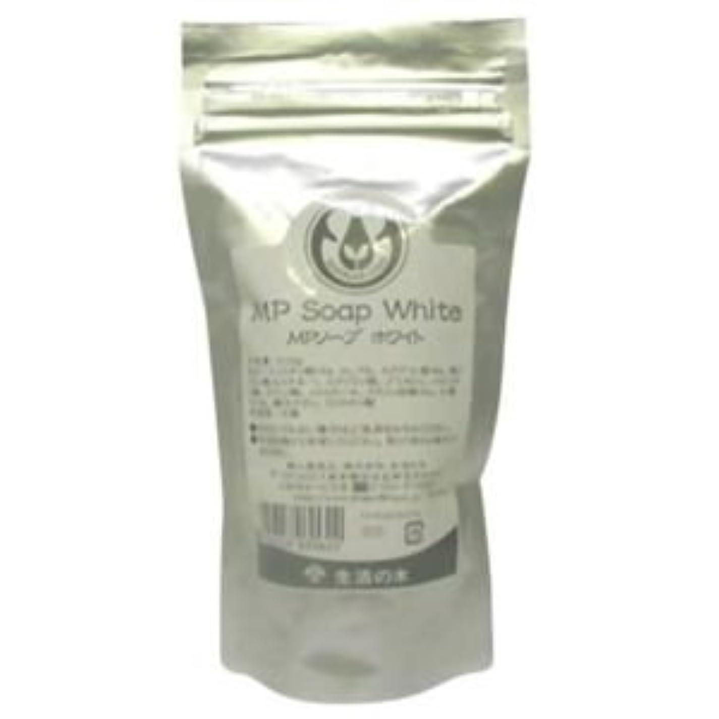 襟汚れた豆生活の木 MPソープホワイト 100g