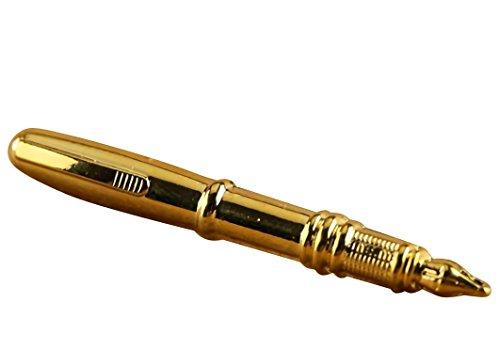 Gentlism ネクタイピン おもしろ ペン 型 タイピン ボールペン 万...