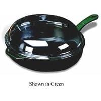 世界料理グリーンcast-iron Frying Pan w /蓋、Dia。11