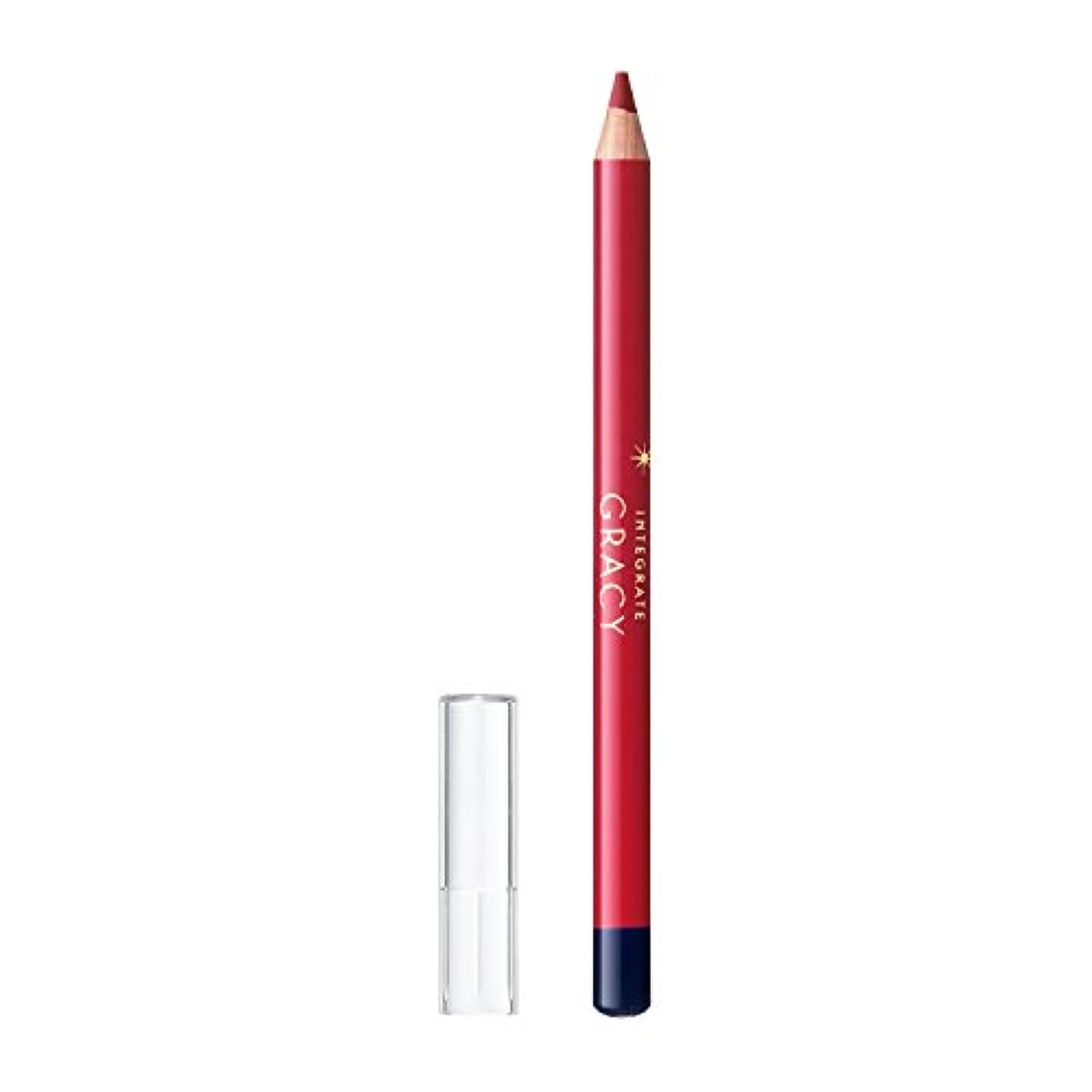 シリーズ分類する有彩色のインテグレート グレイシィ リップライナー ペンシル レッド333 1.5g
