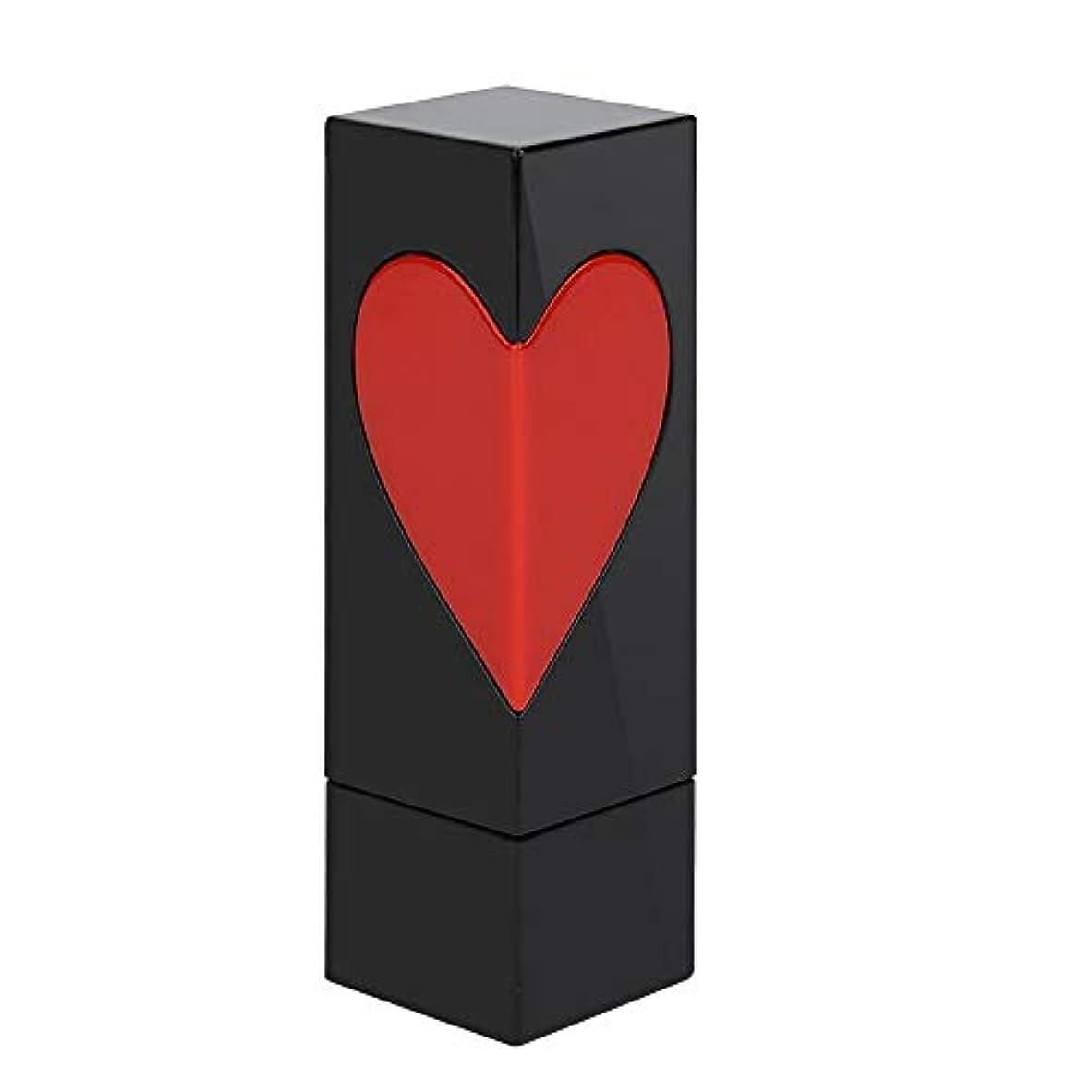 罪人土器密度Semmeの空の口紅の管、愛の心の空のDIYの口紅の容器の自作の口紅型のリップ?クリームの管(シングルoppバッグ)