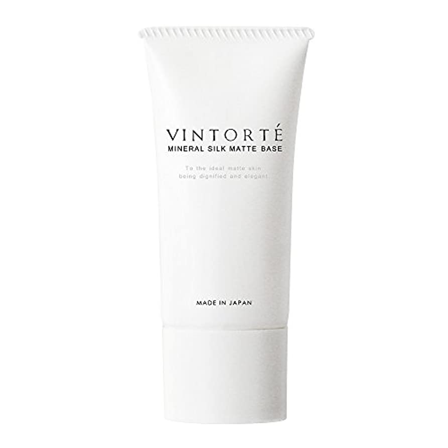 経過容量プラスVINTORTE ミネラル シルク マットベース ヴァントルテ 化粧下地 クリーム ベースメイク v-msmb