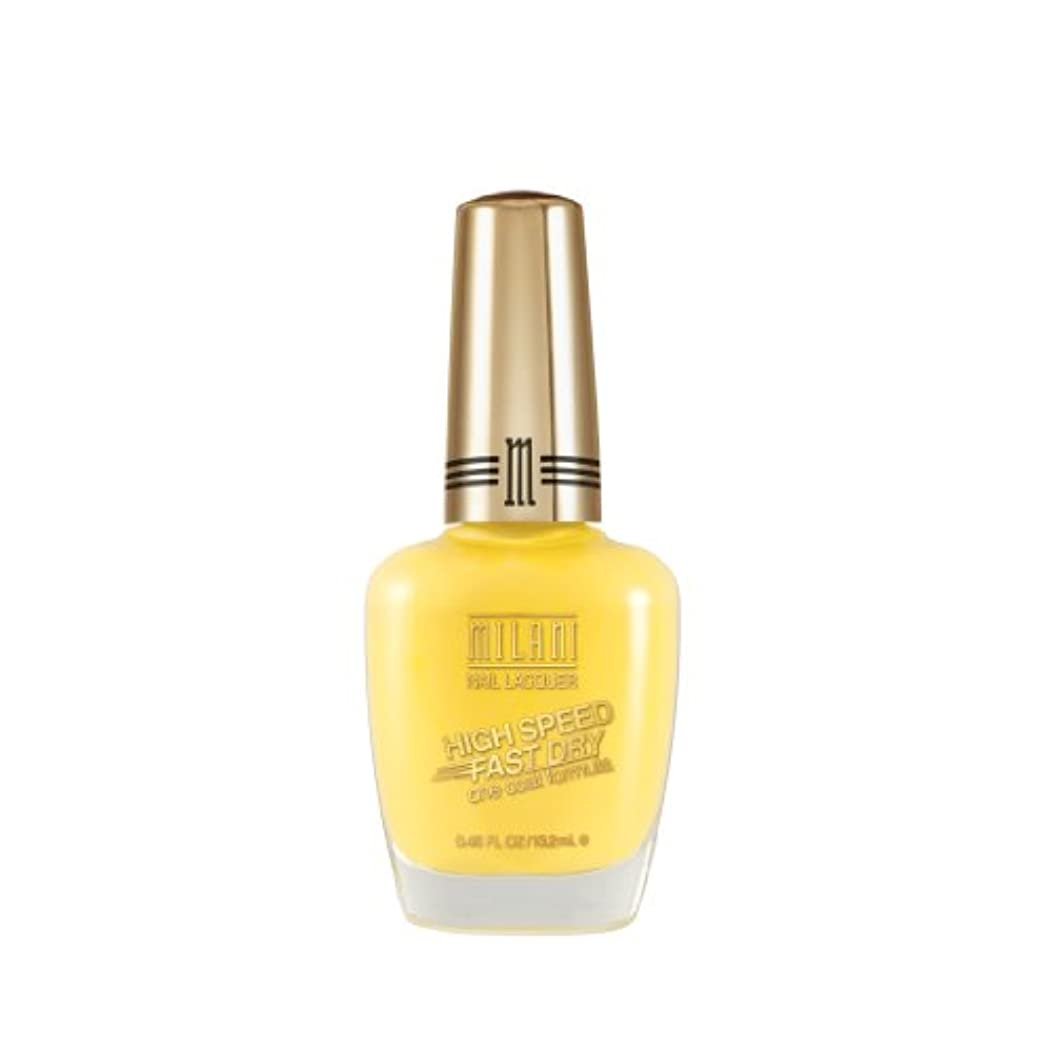 MILANI HIGH SPEED FAST DRY NAIL LACQUER #07 YELLOW WHIZ