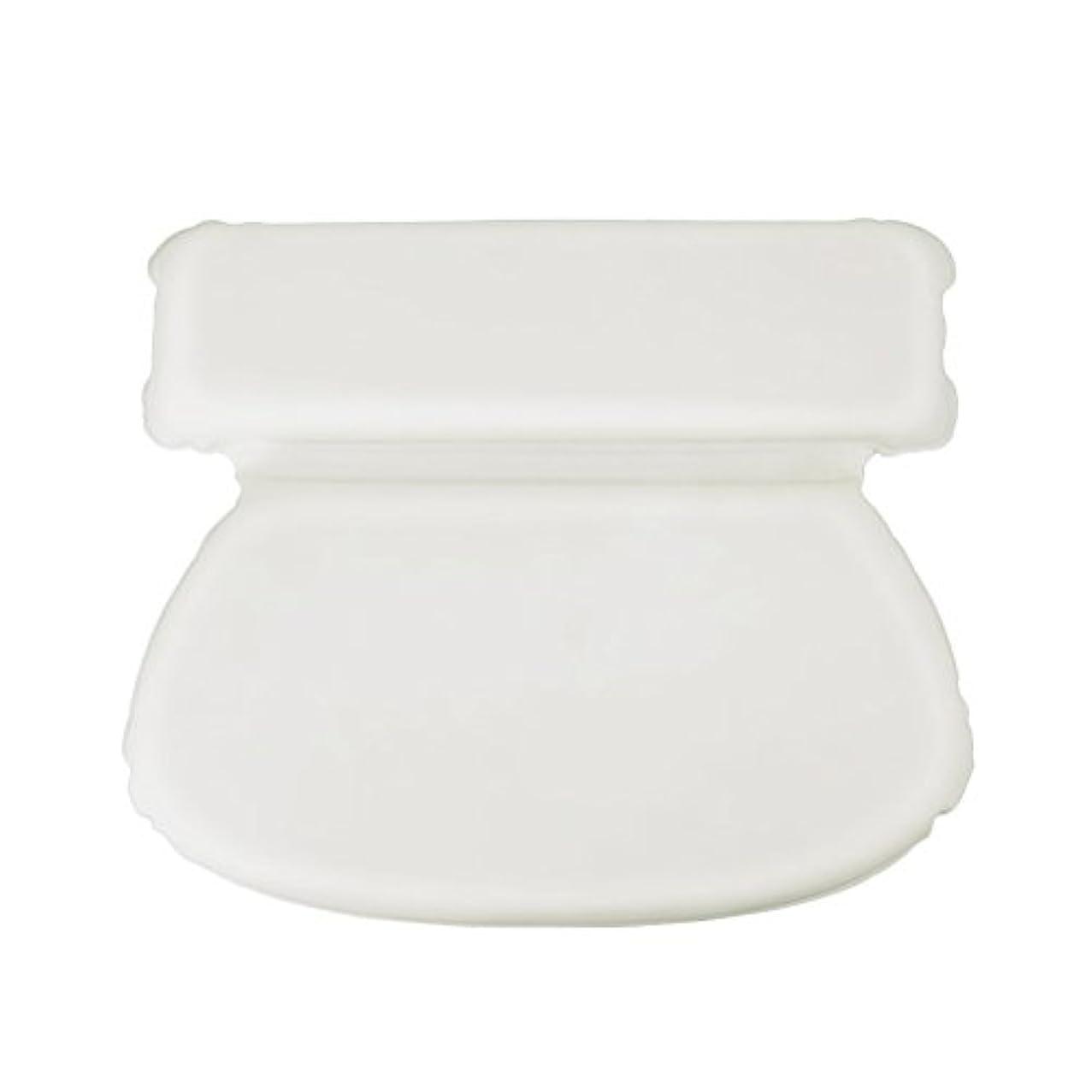 ペストリー公平な顎Lurrose スポンジ浴槽枕吸引バス枕スパヘッドレストアクセサリー用浴室トイレ