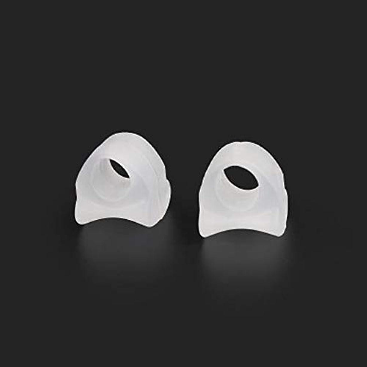 テザーポゴスティックジャンプ威信AAcreatspace Ring Shape Gel Toe Separator Toe Bunion Hallux Valgus Toe Stretchers for Men and Womenすぐに痛みを軽減するイージーウェア