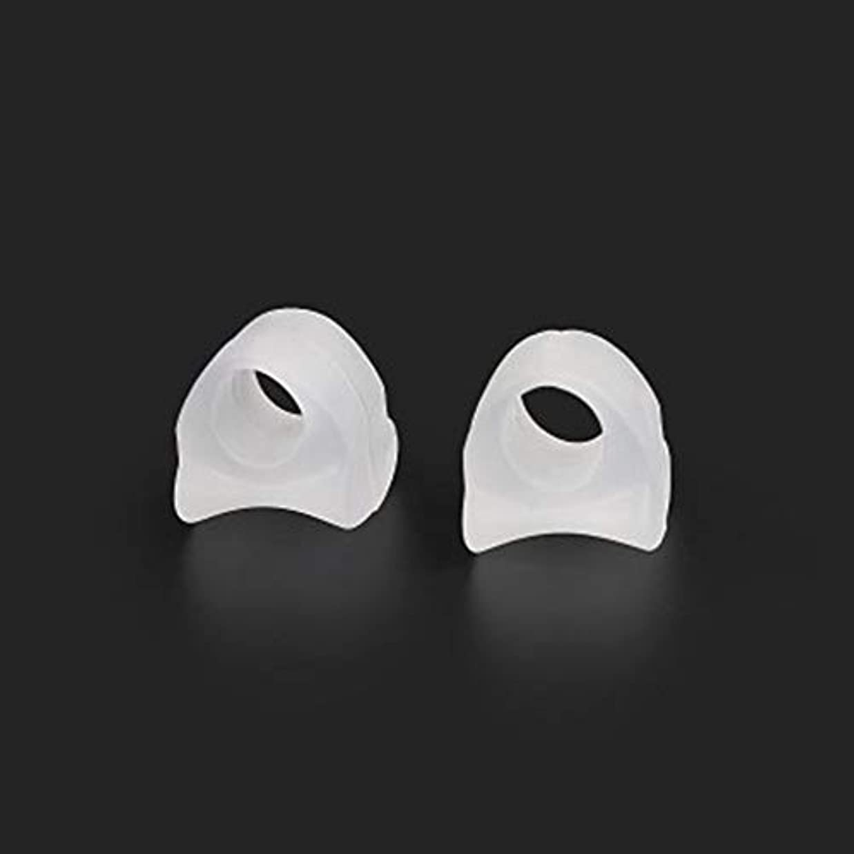 ハリウッド学習者道徳教育AAcreatspace Ring Shape Gel Toe Separator Toe Bunion Hallux Valgus Toe Stretchers for Men and Womenすぐに痛みを軽減するイージーウェア