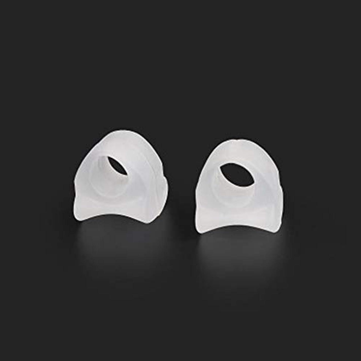 AAcreatspace Ring Shape Gel Toe Separator Toe Bunion Hallux Valgus Toe Stretchers for Men and Womenすぐに痛みを軽減するイージーウェア