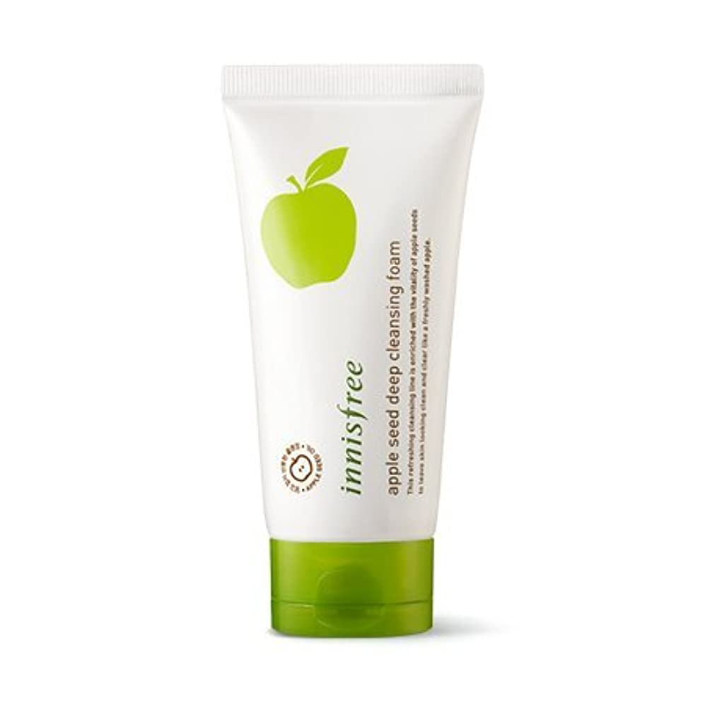 ブラシフロンティア中性[New] innisfree Apple Seed Deep Cleansing Foam 150ml/イニスフリー アップル シード ディープ クレンジング フォーム 150ml