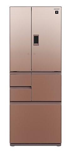 シャープ メガフリーザー 冷蔵庫 502L グラデーションブラウン SJ-GX50D-T