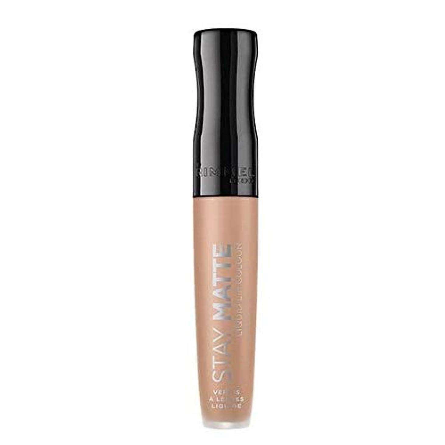 記念品変更カッター[Rimmel ] リンメルステイマット液体リップ口紅生の抱擁 - Rimmel Stay Matte Liquid Lip Lipstick Raw Embrace [並行輸入品]