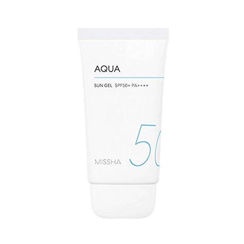 雇った取り囲む天Missha All Around Safe Block Aqua Sun Gel SPF50+ PA++++ 50ml ミシャ オール アラウンド セーフ ブロック アクア サン ジェル 50ml [並行輸入品]