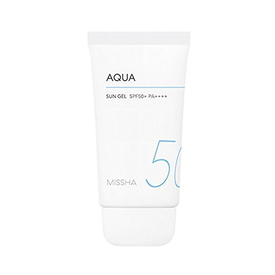 陽気な皮大胆Missha All Around Safe Block Aqua Sun Gel SPF50+ PA++++ 50ml ミシャ オール アラウンド セーフ ブロック アクア サン ジェル 50ml [並行輸入品]