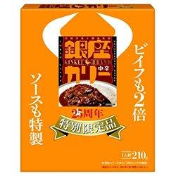 明治 銀座カリー 25周年 特別限定品 210g×30箱入×(2ケース)
