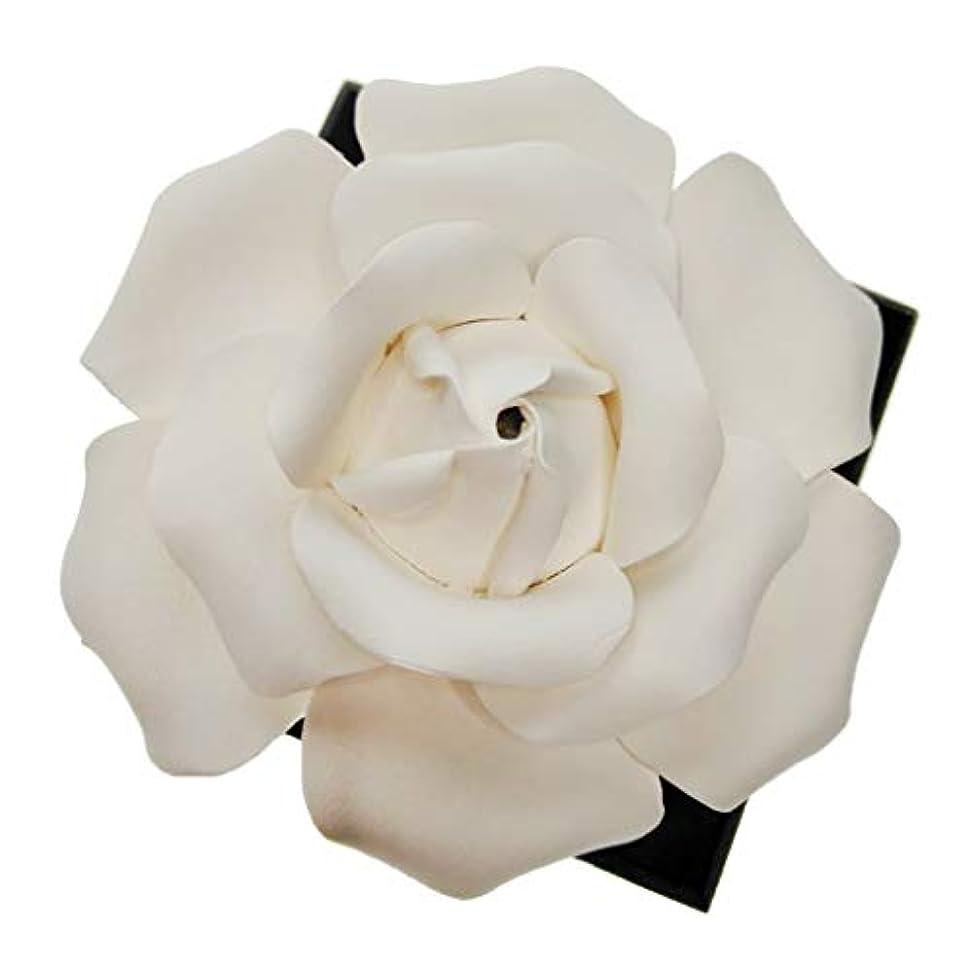多年生受け皿機構F Fityle ローズフラワー エッセンシャルオイル 香水 香りディフューザー 装飾品