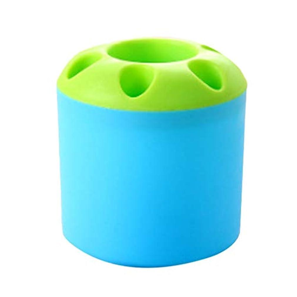 教育学保証自動的に革新的な歯ブラシシリンダープラスチックブラシホルダーバスルームアクセサリー