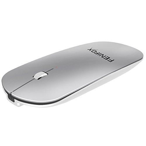 Bluetoothマウス 超薄型 充電式 無線 ワイヤレス マウス 調節が可...