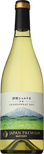 日本ワイン サントリー ジャパンプレミアム 津軽 シャルドネ 2015 750ml