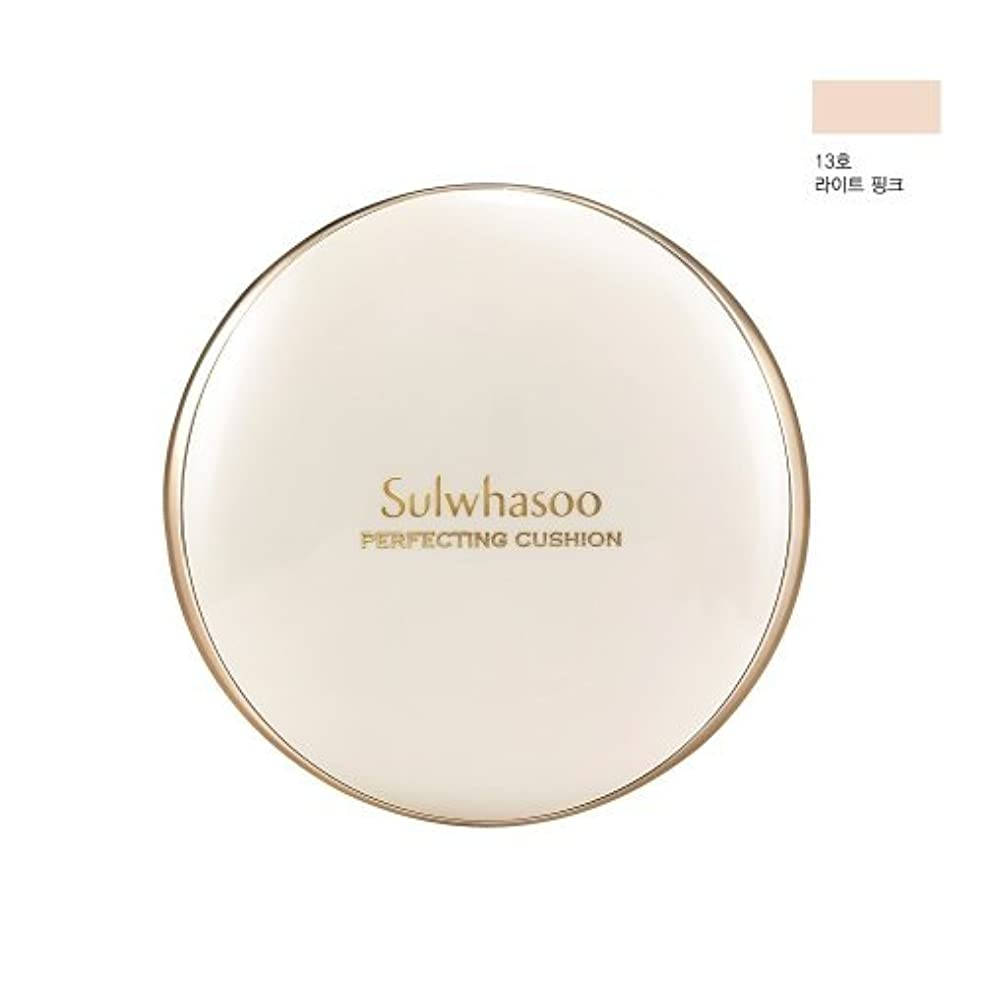 フィットネス主張アンティークSulwhasoo Perfecting Cushion SPF50+/PA+++[並行輸入品] (NO.13 Light Pink)