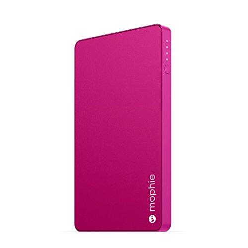 日本正規品・1年保証mophie powerstation mini (急速充電対応 3000mAh モバイルバッテリー) ピンク MOP-BY-000124