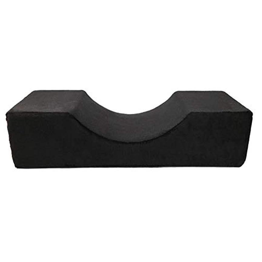 動機付ける死傷者歌Blulux まつげ移植美容枕PUレザー防水まつげ枕移植まつげ枕(opp袋)
