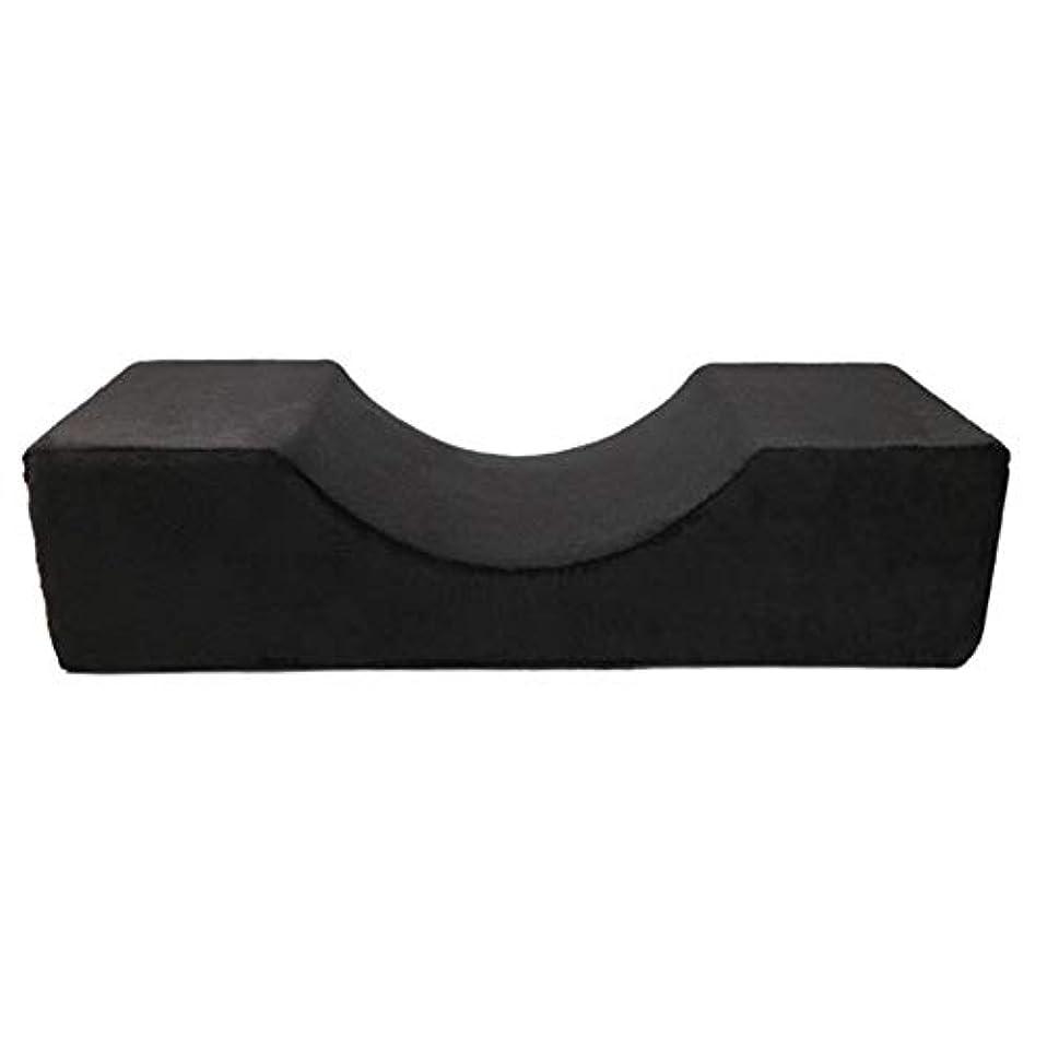 性能レンダリング人柄Blulux まつげ移植美容枕PUレザー防水まつげ枕移植まつげ枕(opp袋)