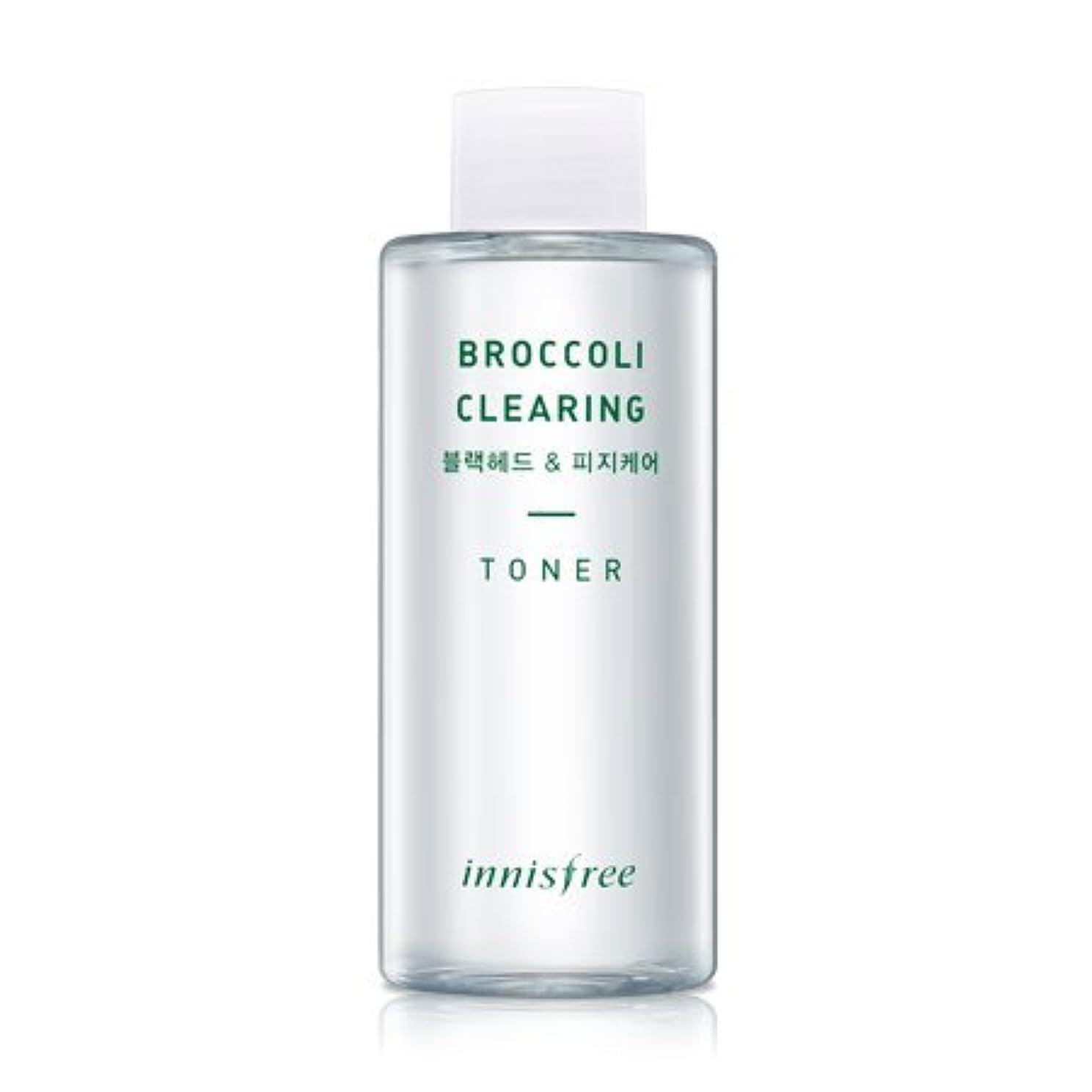 [innisfree(イニスフリー)] Super food_ Broccoli clearing toner (150ml) スーパーフード_ブロッコリー クリアリング?トナー [並行輸入品][海外直送品]