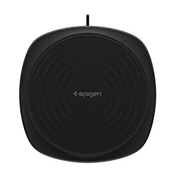 【Spigen】 ワイヤレス充電器 最大10W 急速充電 IP67 防水防塵 USB付属 iPhone/Android スマートフォン・タブレットPC 各種他 Qi対応機種 各種対応 000CH22617 (F305W, ブラック)