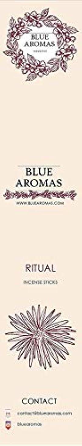 その仮説厚くするBlue Aromas Ritual Incense Sticks Agarbatti |Pack of 8, 10 Sticks in Each Pack Incense | Export Quality