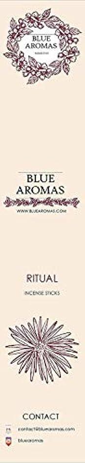 測定可能生まれ起きているBlue Aromas Ritual Incense Sticks Agarbatti  Pack of 8, 10 Sticks in Each Pack Incense   Export Quality