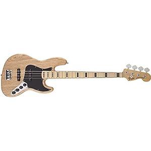 Fender フェンダー エレキベース AMERICAN DLX JAZZ BASS MN NAT ASH
