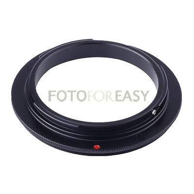フィジェットフィジェットマクロリバースアダプターリング EOS EF/EF-S マウント 5D III 7D 700D 70D用