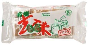 オーサワジャパン 有機玄米もち 6個入(300g) ×6セット