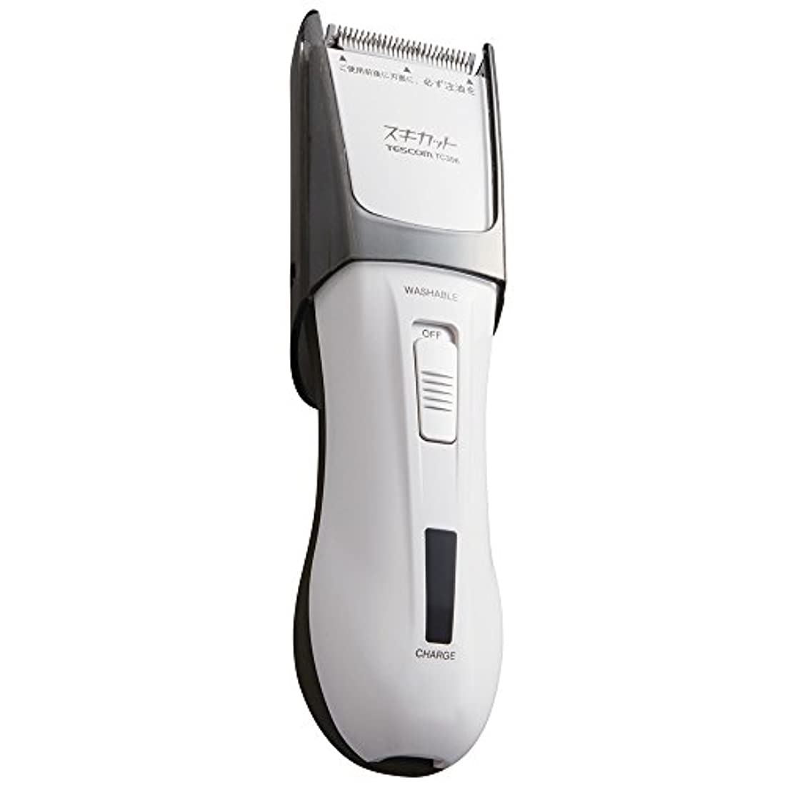 オーブン住人マウスピースTESCOM スキカット 電気バリカン ホワイト TC396-W