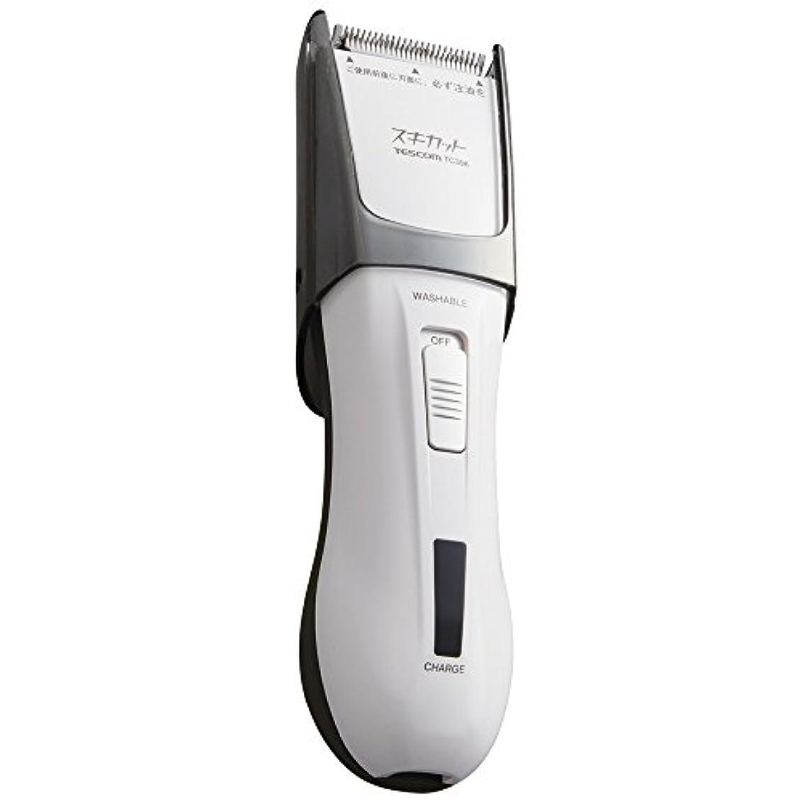 診断するきしむ本質的ではないTESCOM スキカット 電気バリカン ホワイト TC396-W