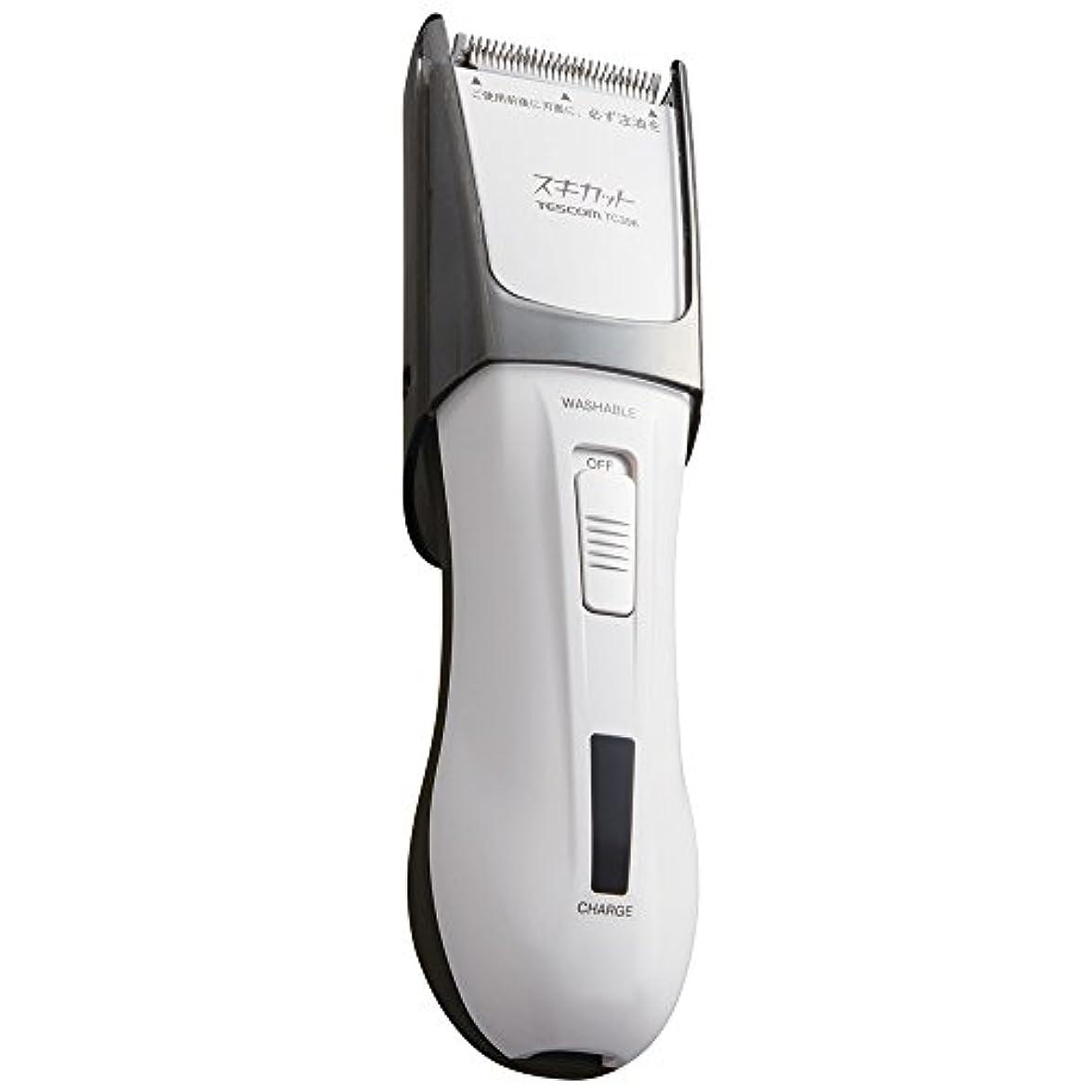 まだらピストン石膏TESCOM スキカット 電気バリカン ホワイト TC396-W