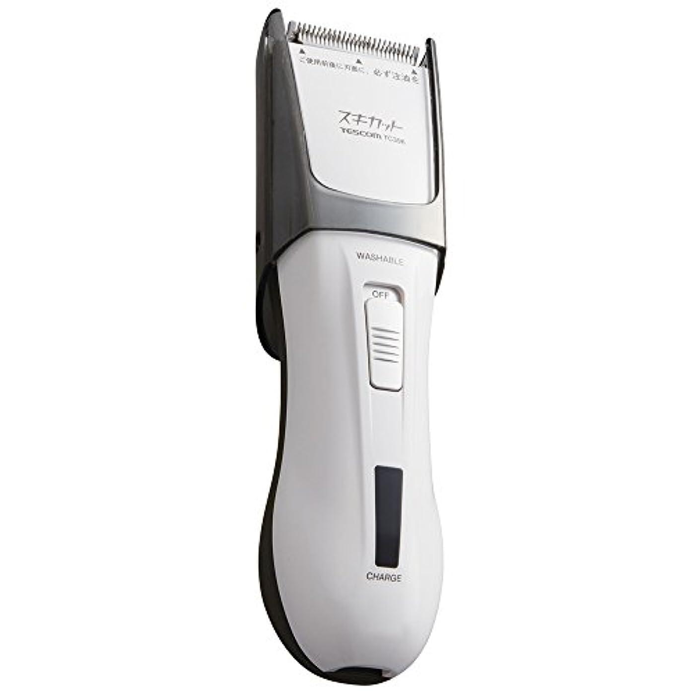 四分円ボーナス信じられないTESCOM スキカット 電気バリカン ホワイト TC396-W