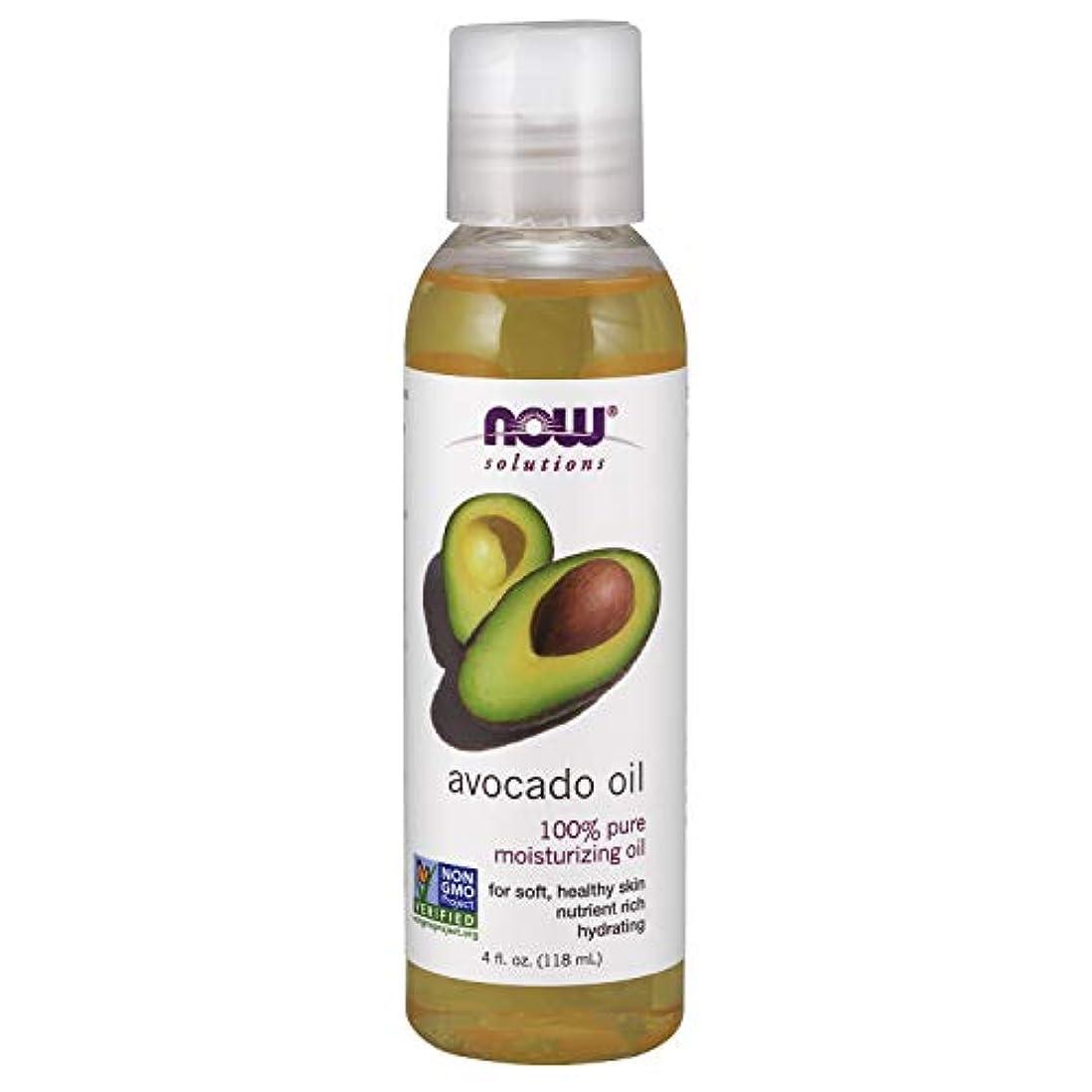 粘性の音節マイナー海外直送品 Now Foods AVOCADO OIL REFINED, 4 OZ