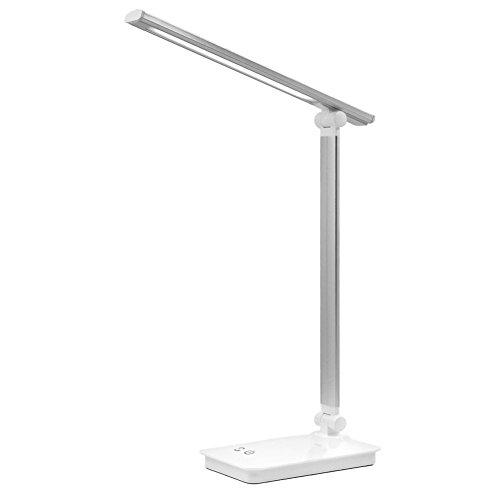 [해외]LENDOO 데스크 라이트 LED 탁상 등 눈에 부드러운 led 조명면 광원 접이식 터치 센서 조광 조색 USB 충전 포트와 180 ° 조정 가능한 에너지 절약 책상 거치형 스탠드 침실 멋쟁이 독서 | 공부 | 일 라이트/LENDOO Desk light LED desk light Eye fr...
