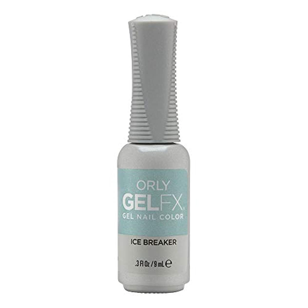 傷つきやすいビート気楽なOrly Gel FX - Arctic Frost Winter 2019 Collection - Ice Breaker - 0.3oz / 9ml