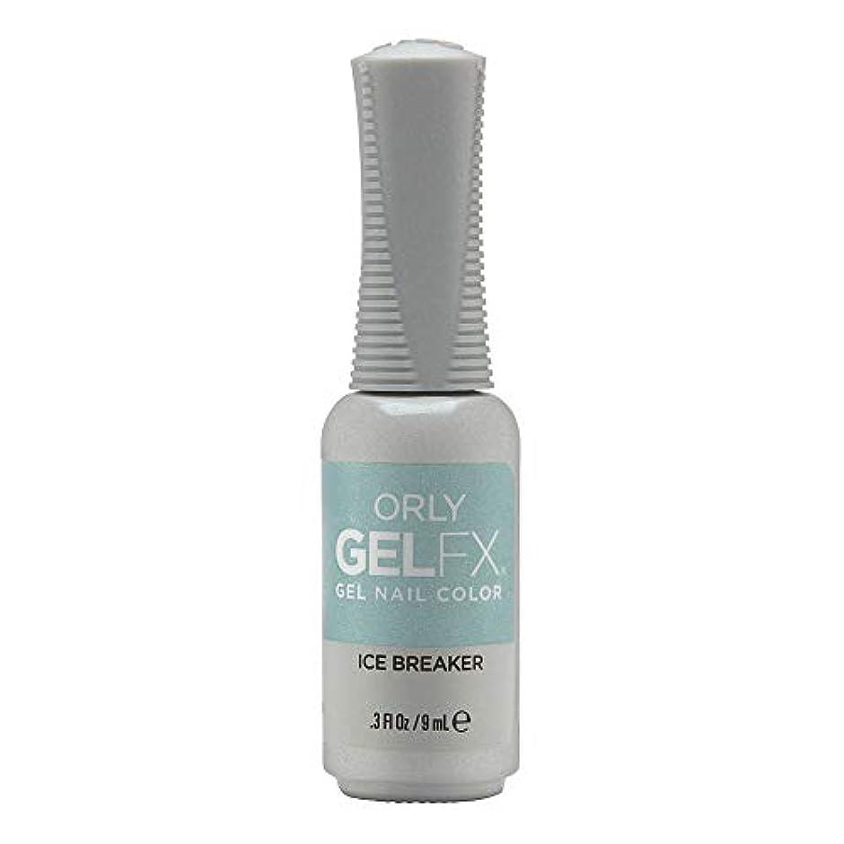 トリッキー薬を飲むアレルギー性Orly Gel FX - Arctic Frost Winter 2019 Collection - Ice Breaker - 0.3oz / 9ml