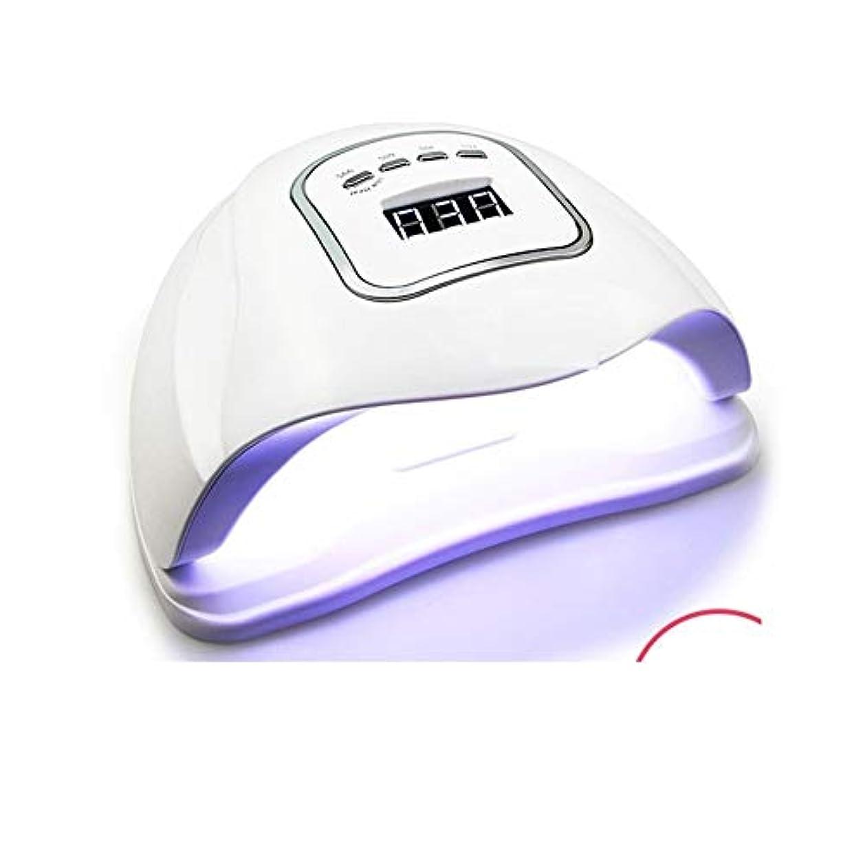 雪の他の場所慣れているLittleCat ネイルセンサー120Wの熱ランプライトセラピー機ドライヤープラスチック速乾性ネイルポリッシュ工作機械のLEDライト (色 : American standard flat plug)