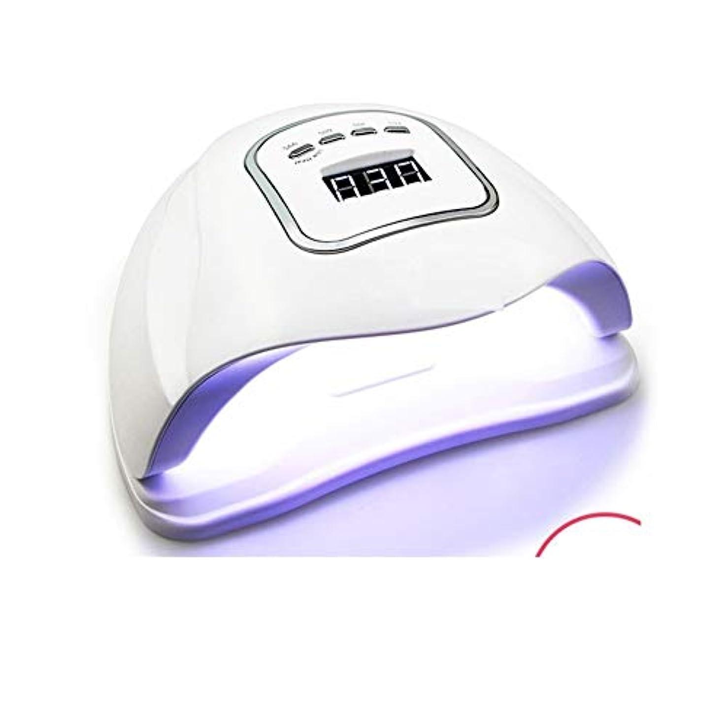 休憩カートリッジ恐怖症LittleCat ネイルセンサー120Wの熱ランプライトセラピー機ドライヤープラスチック速乾性ネイルポリッシュ工作機械のLEDライト (色 : American standard flat plug)