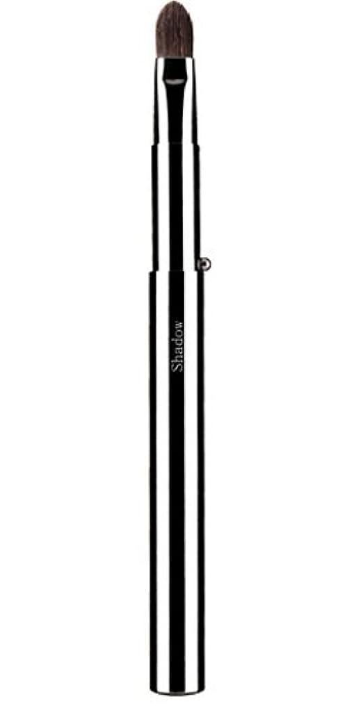 ヒープベジタリアン暴力広島熊野筆 携帯アイシャドーブラシ 毛質 コリンスキー/灰リス