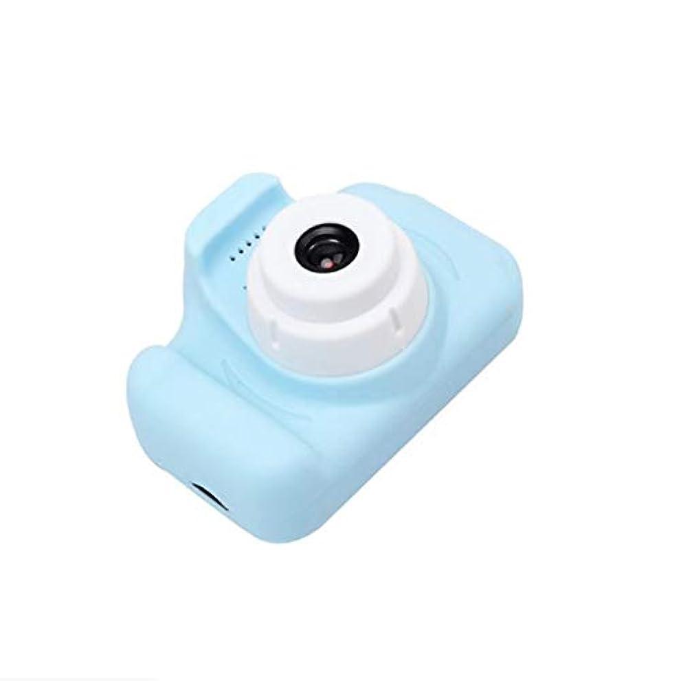 合理的用心するシェードHDバージョンポータブルチャイルドカメラミニSLRミニカメラチャイルドカメラかわいい女の子ギフト子供ミニカメラ-ブルー