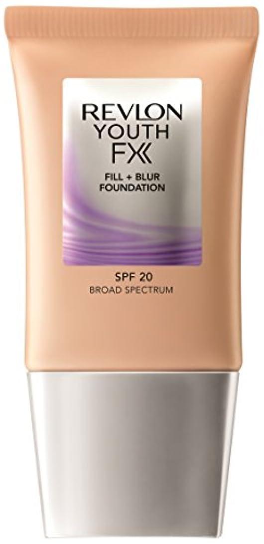 仮装自動化それによってレブロン ユース エフエックス フィル + ブラー ファンデーション 200 カラー:ややピンクよりの自然な肌色 ヌード